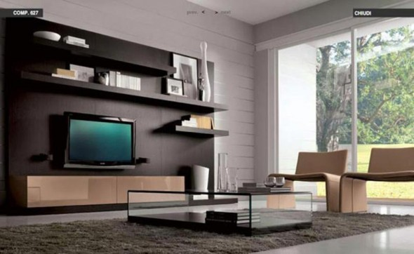 modern living room apartment
