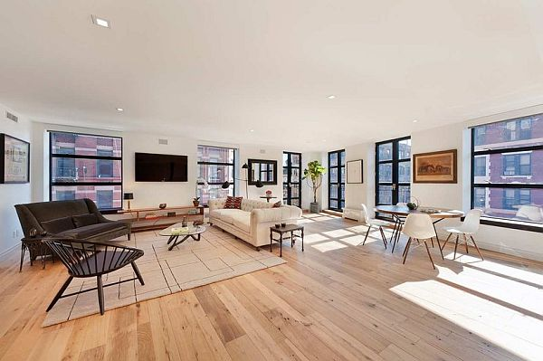 modern manhattan apartment living