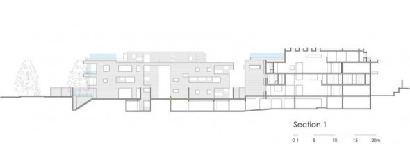 section_01 - Ignacia Apartments Gonzalo Mardones Viviani Architects