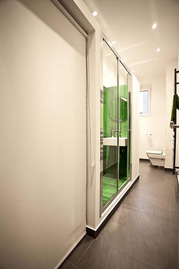 Bathroom ways - Small Polish Apartment Designs