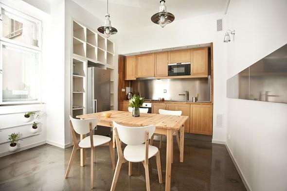Kitchenette - Small Polish Apartment Designs