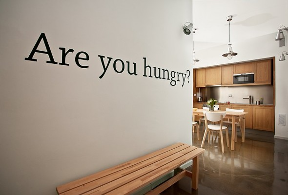 Seating for dining - Small Polish Apartment Designs