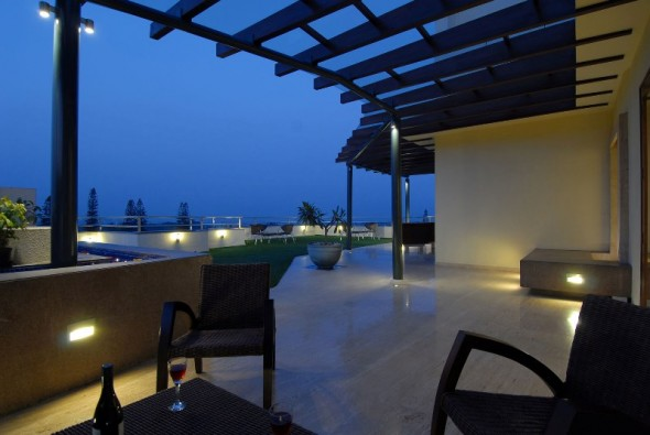 Balcony - Bangalore Duplex Apartment