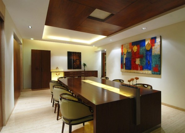 Dining Room - Bangalore Duplex Apartment