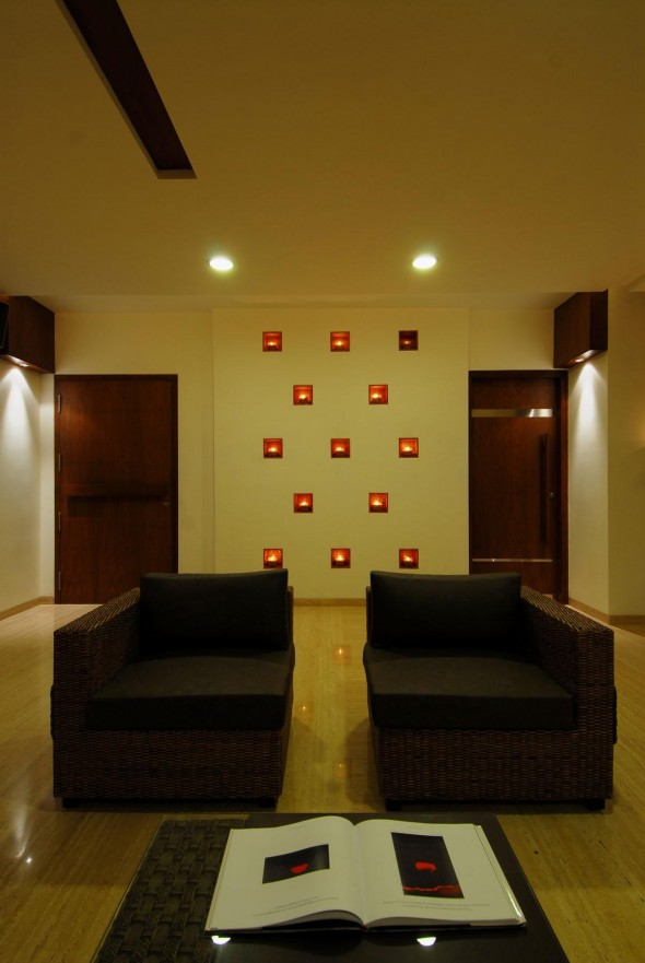 Unique Sofa - Bangalore Duplex Apartment