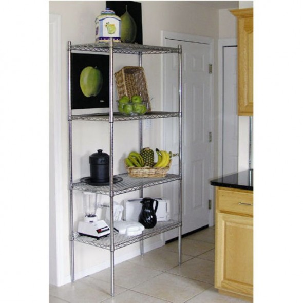 Chrome Plated Shelf for Kitchen - The Benefits of Chrome Shelves for Your Kitchen