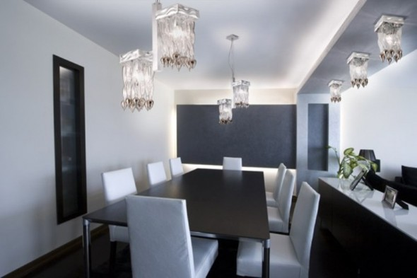 Modern Lighting for Dining Area - Choose for Your Home