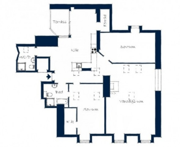 Penthouse Design Plan