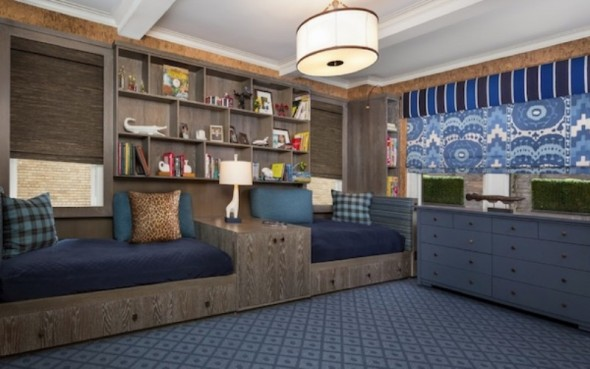 Utilize built-ins and under-bed storage solutions