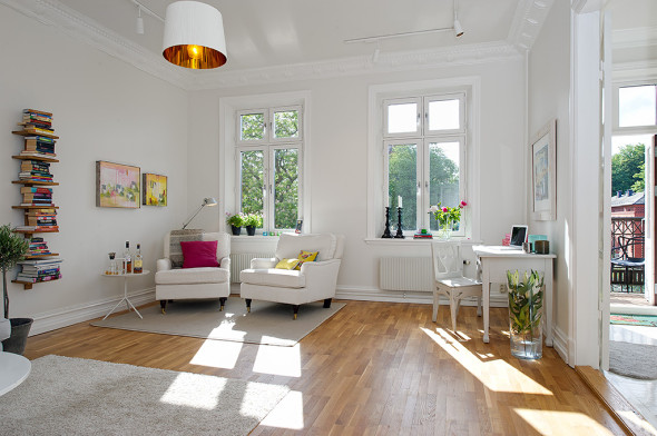 Linnestaden Apartment - Large airy rooms bathed in sun