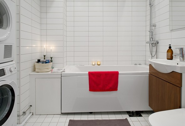 Linnestaden Apartment - Luxury renovated bathroom