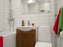 Linnestaden Apartment - Whirlpool tub, heated floors and dimmable spotlights