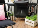 Linnestaden Apartment - outdoor furniture and barbecue
