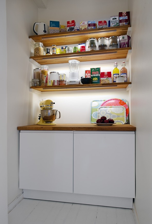 Linnestaden Apartment - pantry