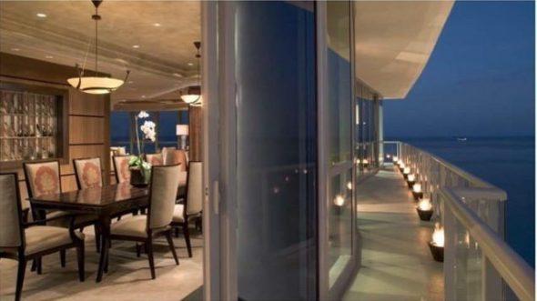 Setai Penthouse balcon