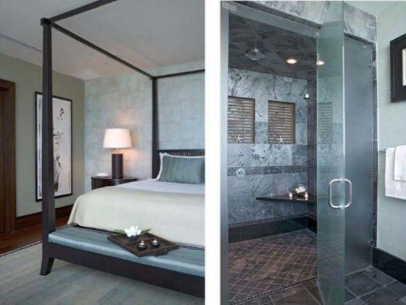 Setai Penthouse bed