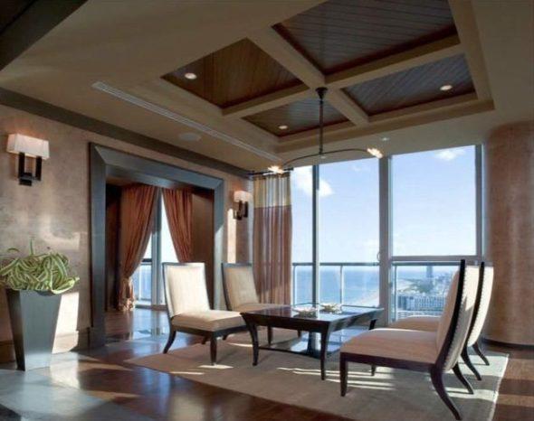 Setai Penthouse living