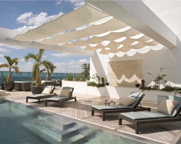 Setai Penthouse pool