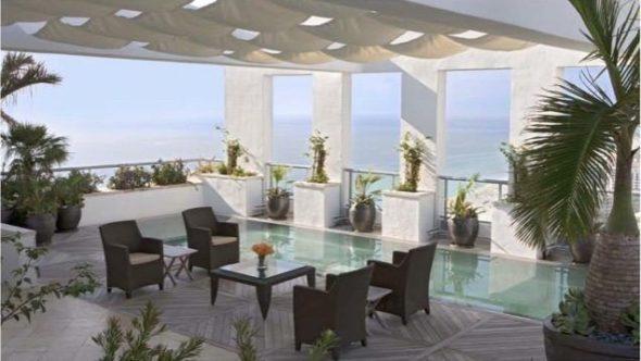 Setai Penthouse view